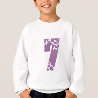 Lila Blumen #7 Sweatshirt