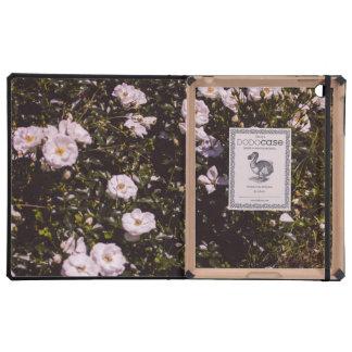 Lila Blumen, Blumenphotographie iPad Schutzhülle