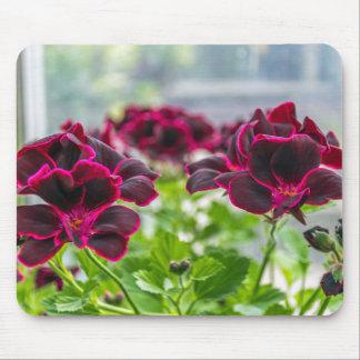 Lila Blumen mousepad
