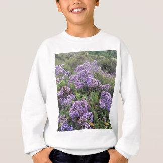 Lila Blumen Sweatshirt