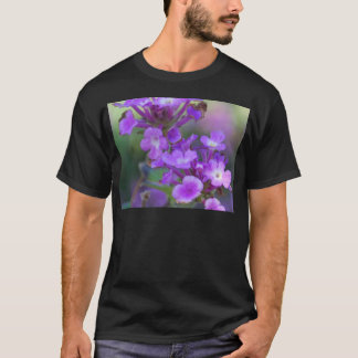 Lila Blumen T-Shirt