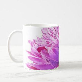 Lila Blumen-Tasse Kaffeetasse