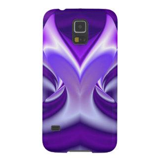 Lila Blumen-Träume Samsung Galaxy S5 Cover