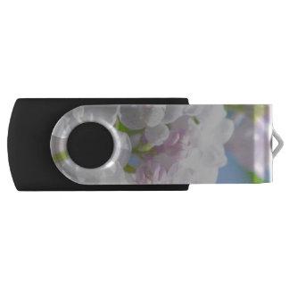 Lila Blumen USB Stick