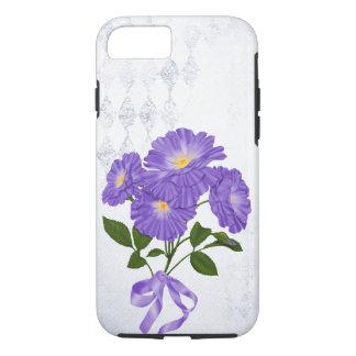 lila Blumenblumenstrauß mit Band iPhone 8/7 Hülle