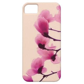 Lila Blüten Etui Fürs iPhone 5