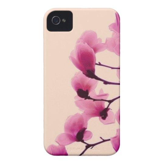 Lila Blüten iPhone 4 Case-Mate Hülle