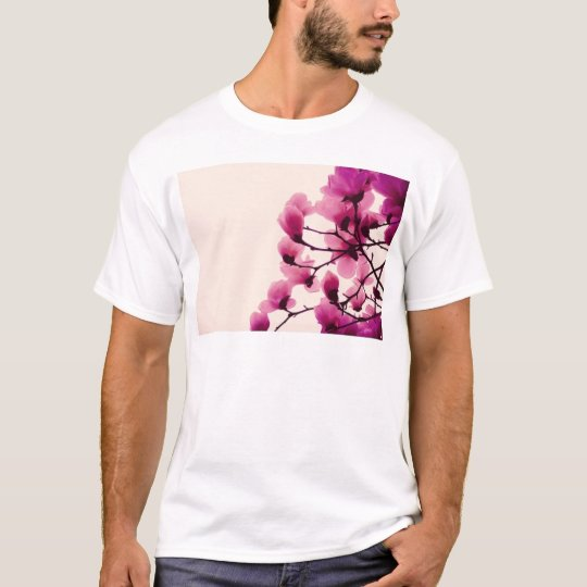 Lila Blüten T-Shirt
