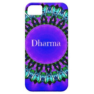Lila Buddha-Wahrheiten Darma Mandala-Muster iPhone 5 Case