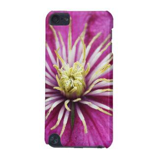 Lila Clematis-Blume in der Blüte während des iPod Touch 5G Hülle
