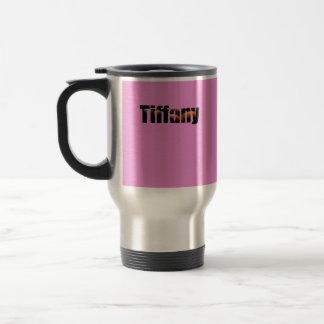 Lila Coffe Tasse für Tiffany