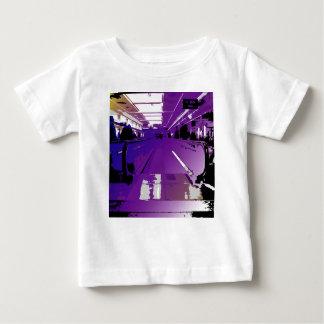 Lila Depature Baby T-shirt
