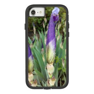 Lila deutsche Iris-Knospen Case-Mate Tough Extreme iPhone 8/7 Hülle