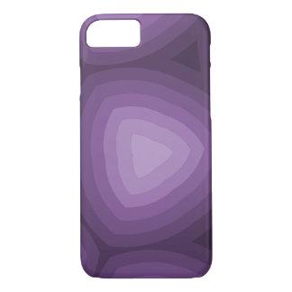 Lila Dreieck-geometrischer Entwurf iPhone 8/7 Hülle