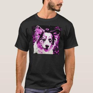 Lila Dunst Maggie T-Shirt