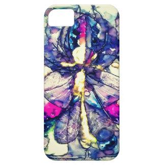 Lila Dunst-Telefon-Kasten iPhone 5 Schutzhülle