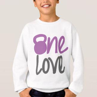 """Lila """"eine Liebe """" Sweatshirt"""