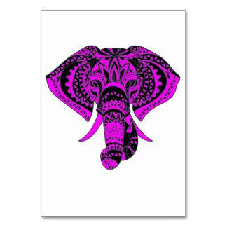 Lila Elefant-Tier Karte
