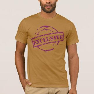 lila exklusives Siegel T-Shirt