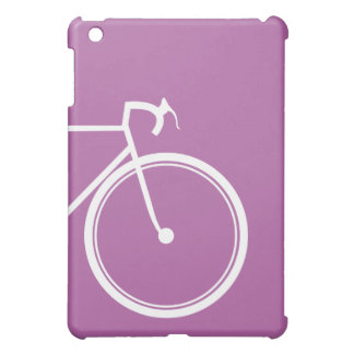Lila Fahrrad iPad Mini Hülle
