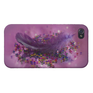 Lila Fairys Feder iPhone 4/4S Case