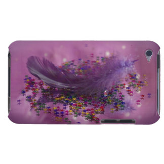 Lila Fairys Feder iPod Touch Cover