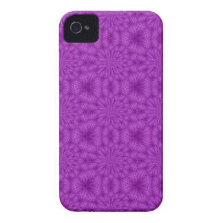 Lila Farbe des abstrakten hölzernen Musters iPhone 4 Hüllen