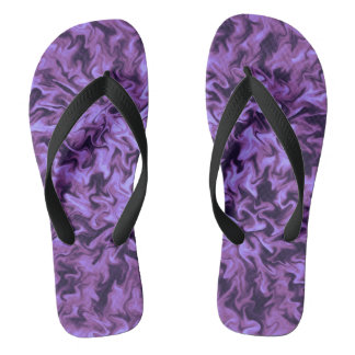 Lila Feuer Flip Flops