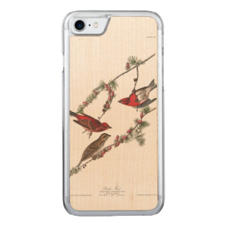Lila Fink Audubon Platten-4 Carved iPhone 8/7 Hülle