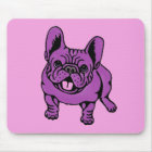 Lila Frenchie Mousepad