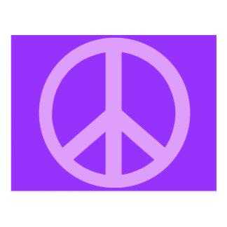 Lila Friedenszeichen-Produkte