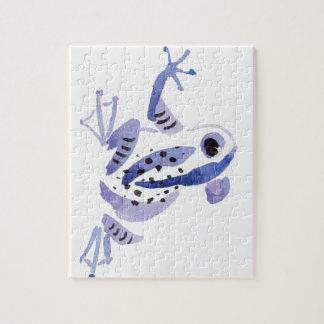 Lila Frosch Puzzle