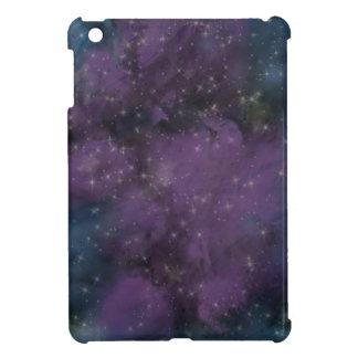 Lila Galaxie-Nebelfleck iPad Mini Hülle