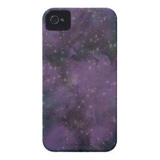 Lila Galaxie-Nebelfleck iPhone 4 Hülle