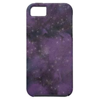 Lila Galaxie-Nebelfleck iPhone 5 Etui