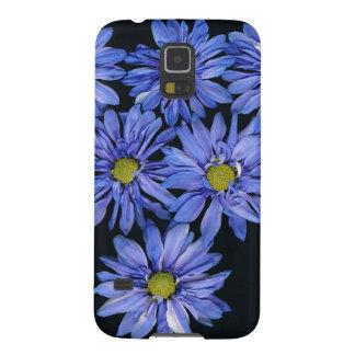 Lila Gänseblümchen Samsung Galaxy S5 Hüllen