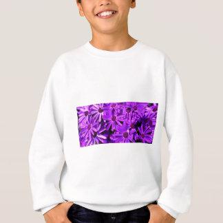 Lila Gänseblümchen Sweatshirt
