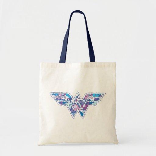 Lila Gänseblümchen WW Tasche
