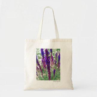 """Lila """"Garten-Lupine-"""" Taschen-Tasche Tragetasche"""