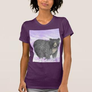 lila Gebirgsbär, Behälterspitze T-Shirt