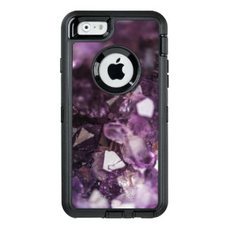 Lila Geode Kristall OtterBox iPhone 6/6s Hülle