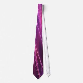 Lila geometrische abstrakte (1 Seite) Krawatte