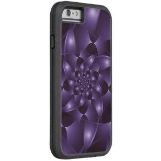 Lila gewundener Fraktal Xtreme iPhone 6 Kasten Tough Xtreme iPhone 6 Hülle