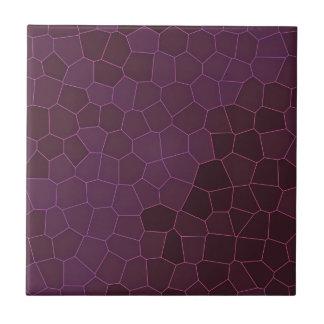 Lila Giraffen-Mosaik Keramikfliese