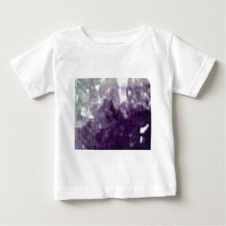 lila Glasränder Baby T-shirt