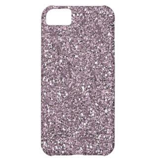 lila Glitter iphone 5 Kasten iPhone 5C Hülle