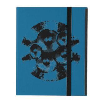 Lila glühendes Atom Hülle Fürs iPad