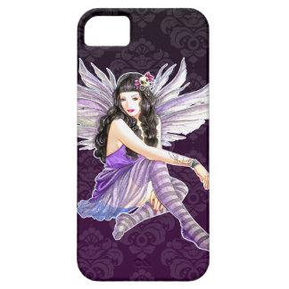 Lila gotischer feenhafter Damast iPhone 5 Gewohnhe iPhone 5 Schutzhüllen