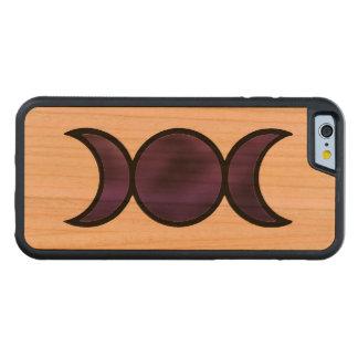 Lila Göttin iPhone 6/6s Holz-Kasten Bumper iPhone 6 Hülle Kirsche