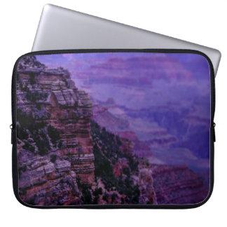 Lila Grand- Canyonlaptop-Hülse Laptop Sleeve